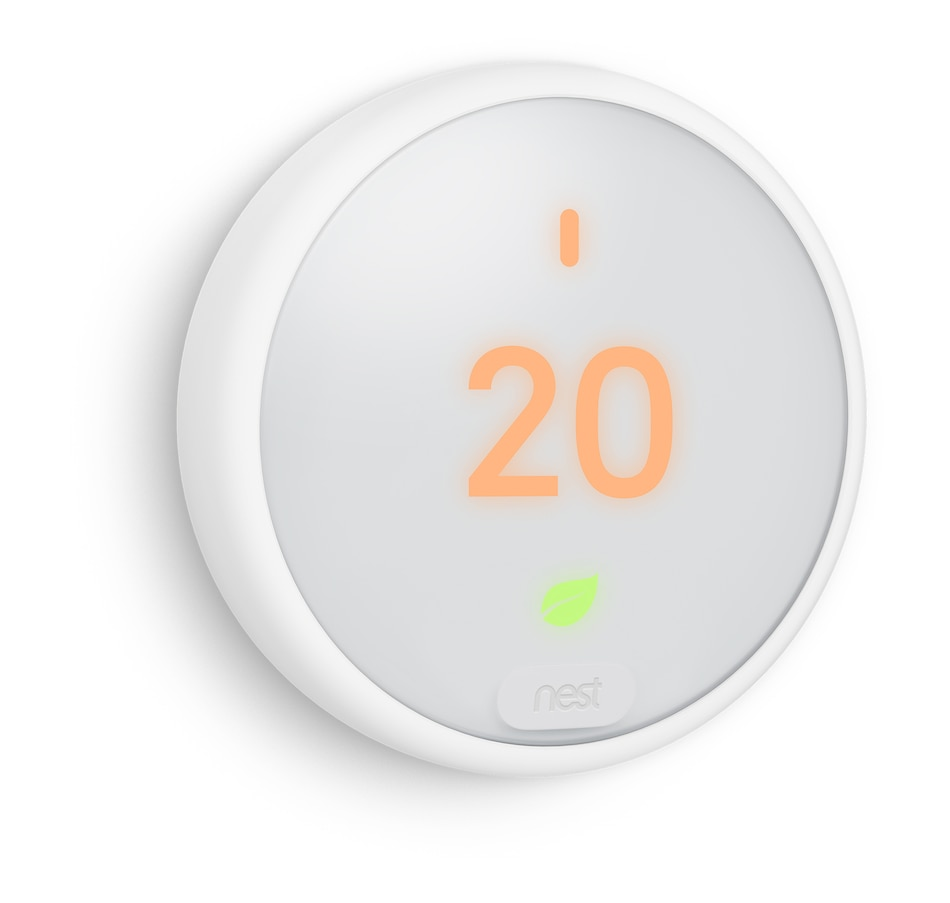 Image 651453.jpg , Product 651-453 / Price $229.99 , Google Nest Smart Thermostat E (NST-T4000EF) from Google on TSC.ca's Electronics department