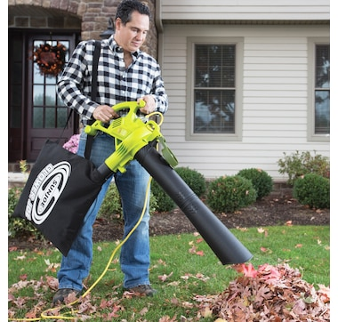 Sun Joe 13-Amp High Performance Variable-Speed (up to 240 MPH) Electric Blower/Vacuum/Mulcher