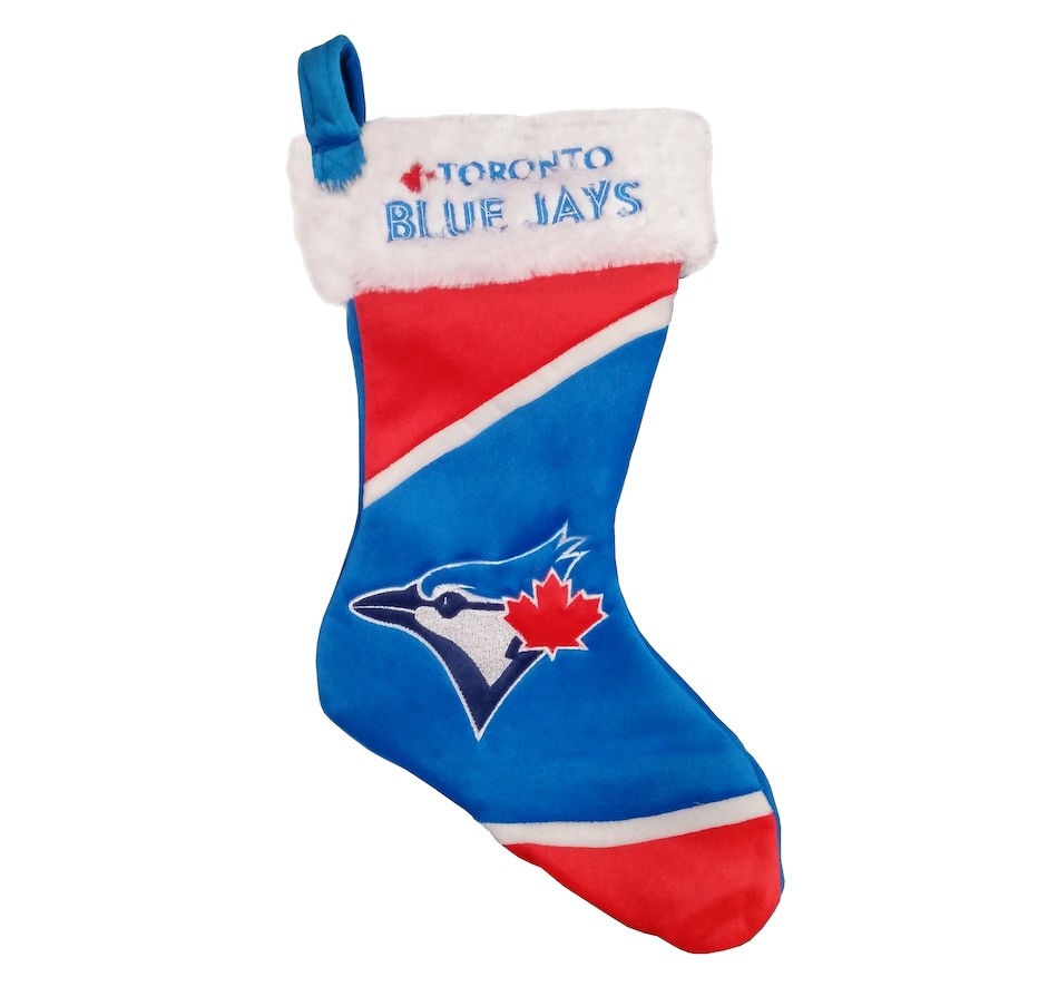 Image 654379.jpg , Product 654-379 / Price $19.99 , Toronto Blue Jays Colorblock Stocking  on TSC.ca's Sports department
