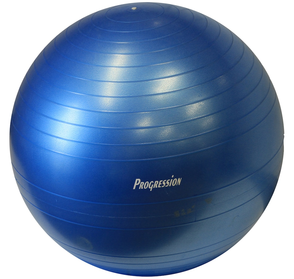 Image 654721_75CM.jpg , Product 654-721 / Price $32.99 - $39.99 , Progression Fitness Exercise Ball  on TSC.ca's Health & Fitness department