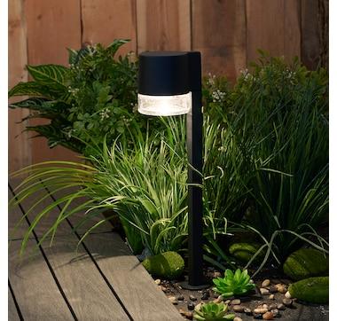 Sterno Home Clear Bottom Aluminum LED Path Light