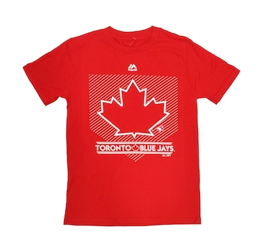 Youth Toronto Blue Jays Leaf Logo T-Shirt
