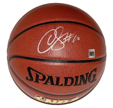 Autographed DeMar DeRozan Toronto Raptors Spalding Basketball