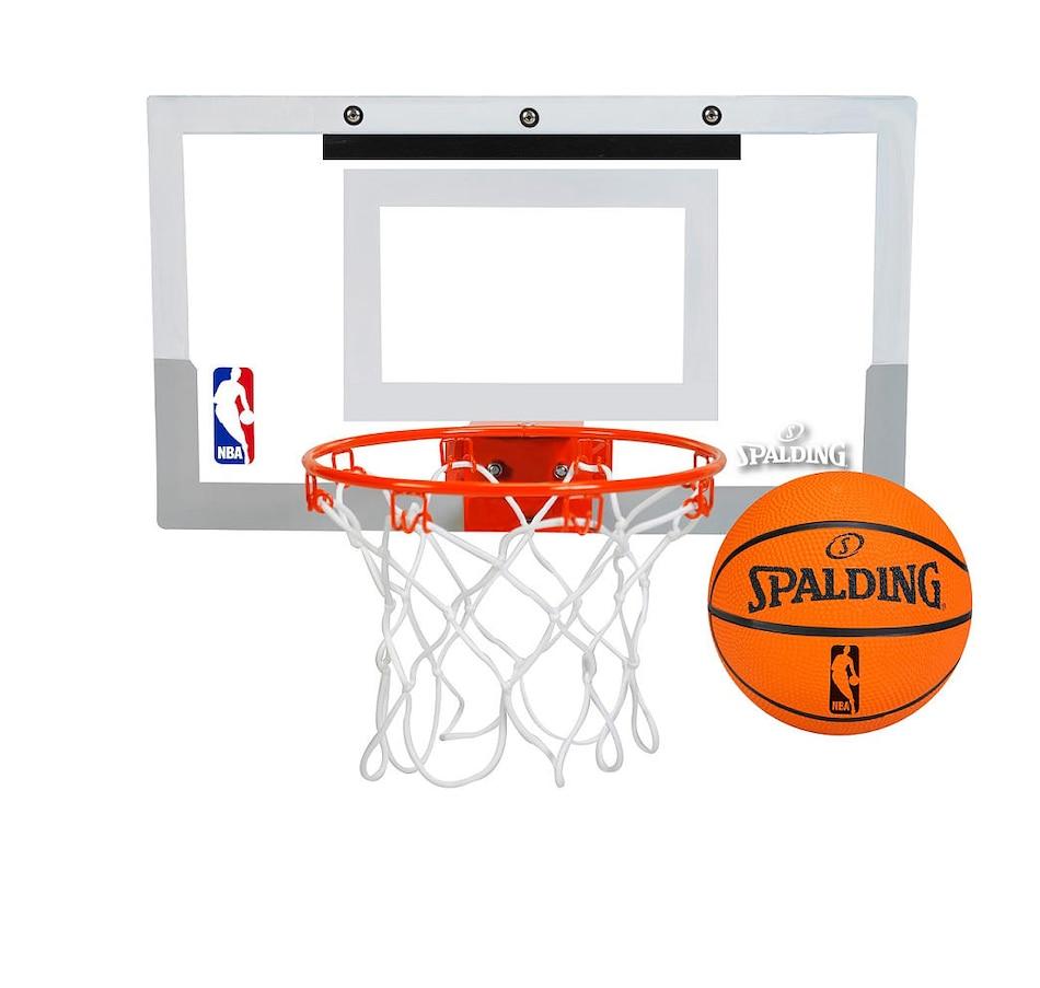 Image 655410.jpg , Product 655-410 / Price $59.99 , Spalding NBA Slam Jam Mini Basketball Hoop Set  on TSC.ca's Fitness & Recreation department