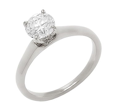 Bridal Collection 14K Gold 1.00ctw Diamond Solitaire Ring