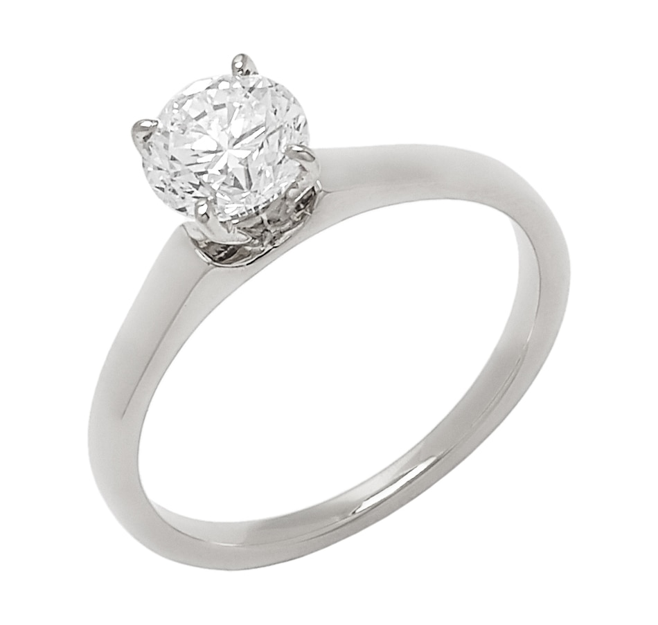 Image 656278_WGL.jpg , Product 656-278 / Price $6,699.33 , Bridal Collection 14K Gold 1.00ctw Diamond Solitaire Ring from Diamond Bridal on TSC.ca's Jewellery department