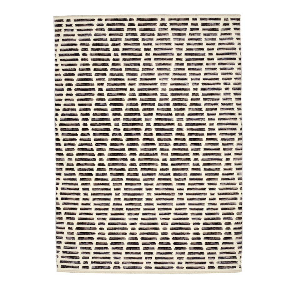Image 658589.jpg , Product 658-589 / Price $249.99 - $499.99 , Viana Essauoira Modern Geometric Ribbed Textured Premium Polyester Rug from Viana Inc on TSC.ca's Home & Garden department