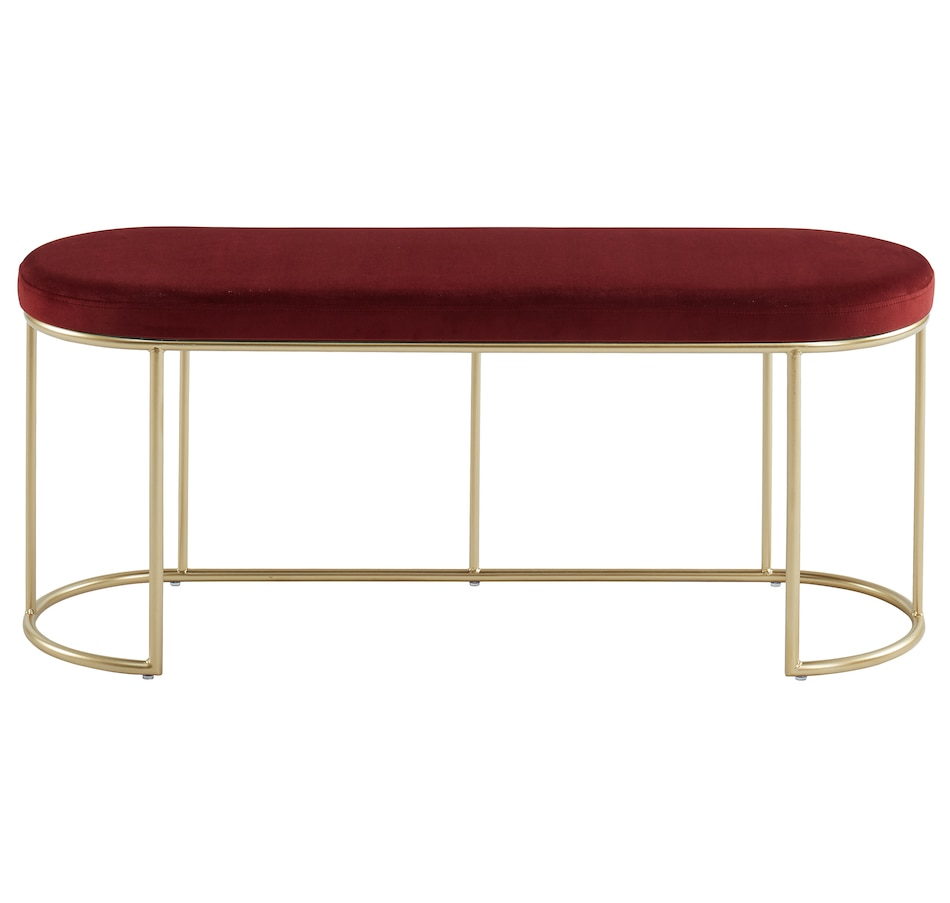Image 658653_BGD.jpg , Product 658-653 / Price $167.00 , Perla Velvet Bench  on TSC.ca's Home & Garden department