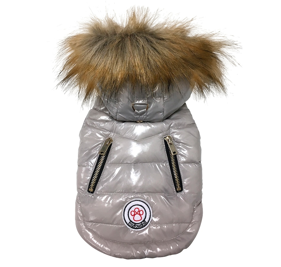 Image 658662_GRY.jpg , Product 658-662 / Price $74.99 - $89.99 , FouFouDog 14K Foucler Luxe Parka from FouFou Dog on TSC.ca's Home & Garden department