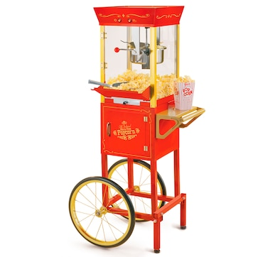 Nostalgia 53-In. Vintage 6-Oz. Commercial Popcorn Cart