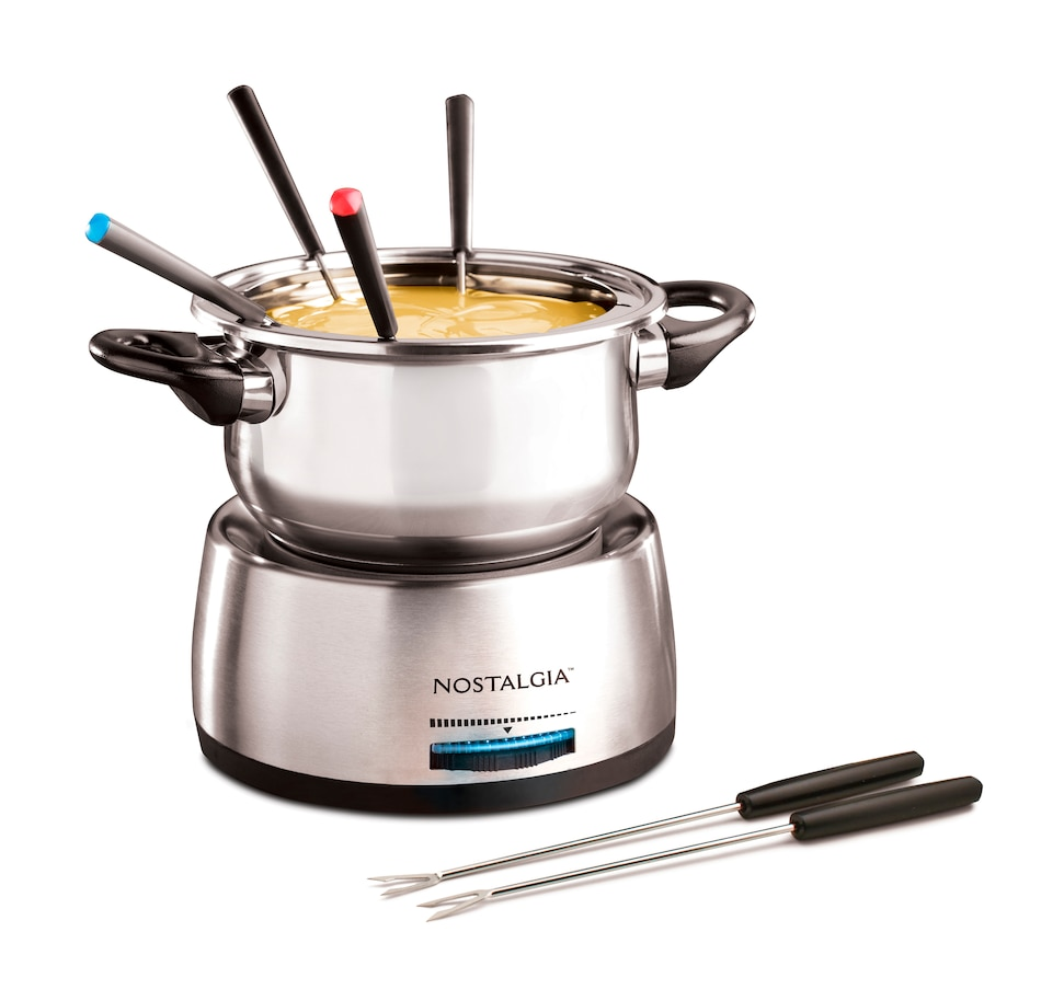 Image 658685.jpg , Product 658-685 / Price $47.99 , Nostalgia 6-Cup Stainless Steel Electric Fondue Pot from Nostalgia on TSC.ca's Kitchen department
