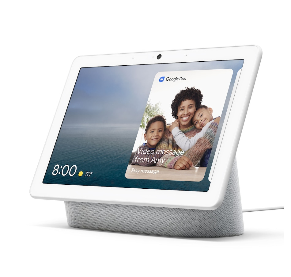 Image 658753_CHK.jpg , Product 658-753 / Price $249.99 , Google Nest Hub Max (Chalk) from Google on TSC.ca's Electronics department