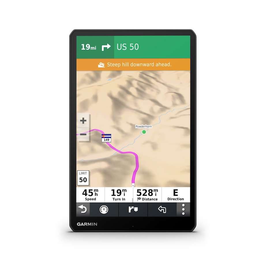 """Image 658779.jpg , Product 658-779 / Price $979.99 , Garmin RV 1090 10"""" Display GPS Navigator with Voice Assistant (black) from Garmin on TSC.ca's Health & Fitness department"""