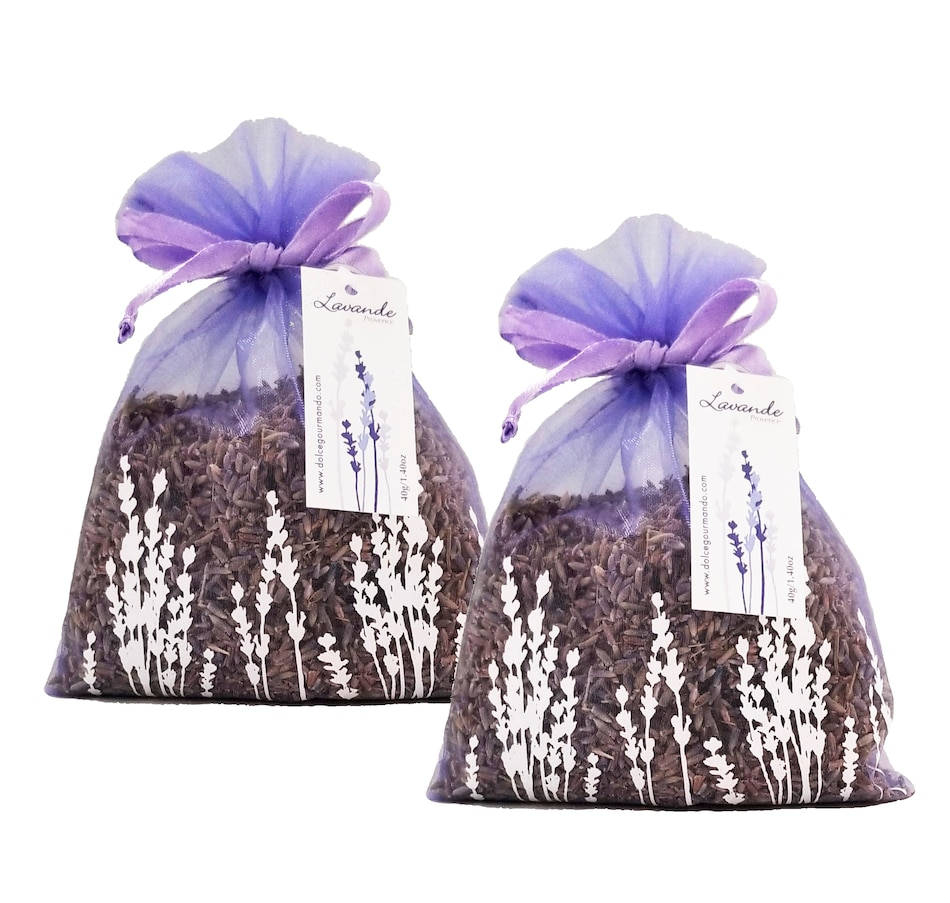 Image 658784_2PK.jpg , Product 658-784 / Price $19.95 - $32.95 , Dolce & Gourmando French Lavender Sachet from Dolce & Gourmando on TSC.ca's Home & Garden department