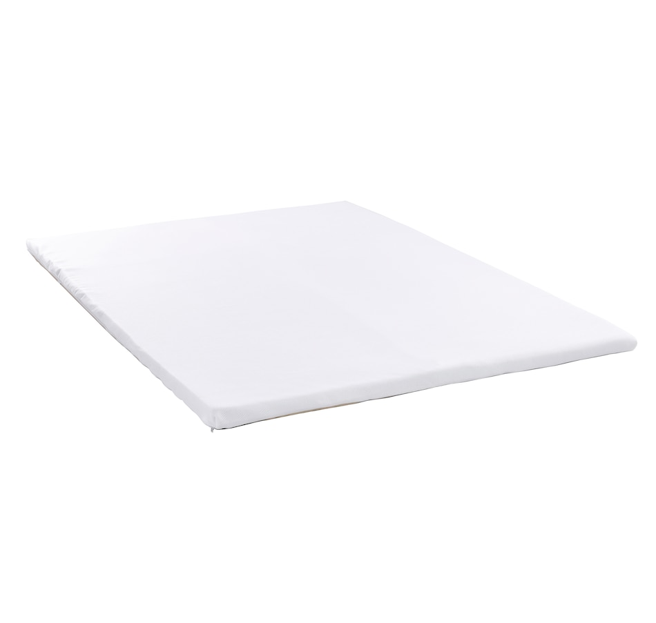 "Image 658785.jpg , Product 658-785 / Price $199.99 - $399.99 , Health-o-pedic 2"" Gel Memory Foam Topper with Zippered Stretched Knit Fabric Topper Cover from Health-o-pedic on TSC.ca's Home & Garden department"