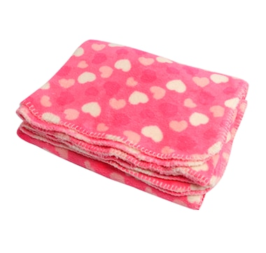 Valentine's Day Themed Fleece Throw