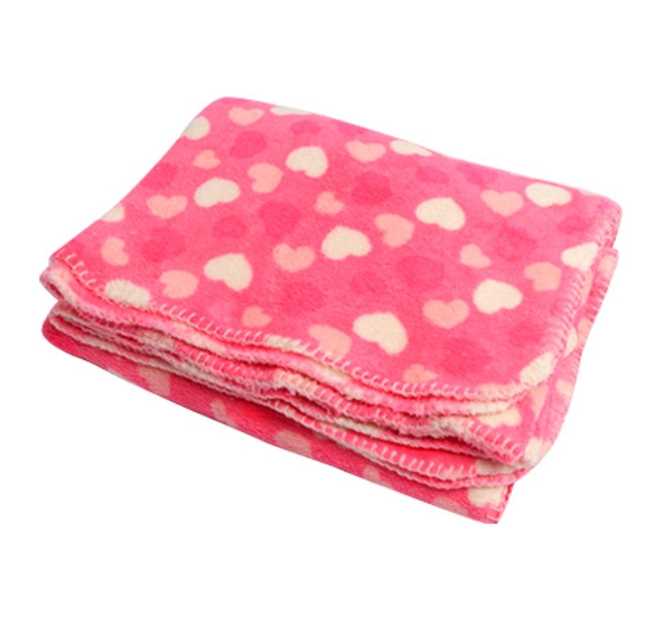 Image 658788_HRTS.jpg , Product 658-788 / Price $19.95 , Valentine's Day Themed Fleece Throw  on TSC.ca's Home & Garden department