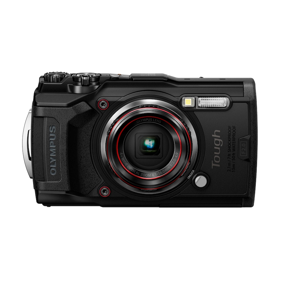 Image 659141_BLK.jpg , Product 659-141 / Price $579.99 , Olympus Tough TG-6 from Olympus on TSC.ca's Electronics department