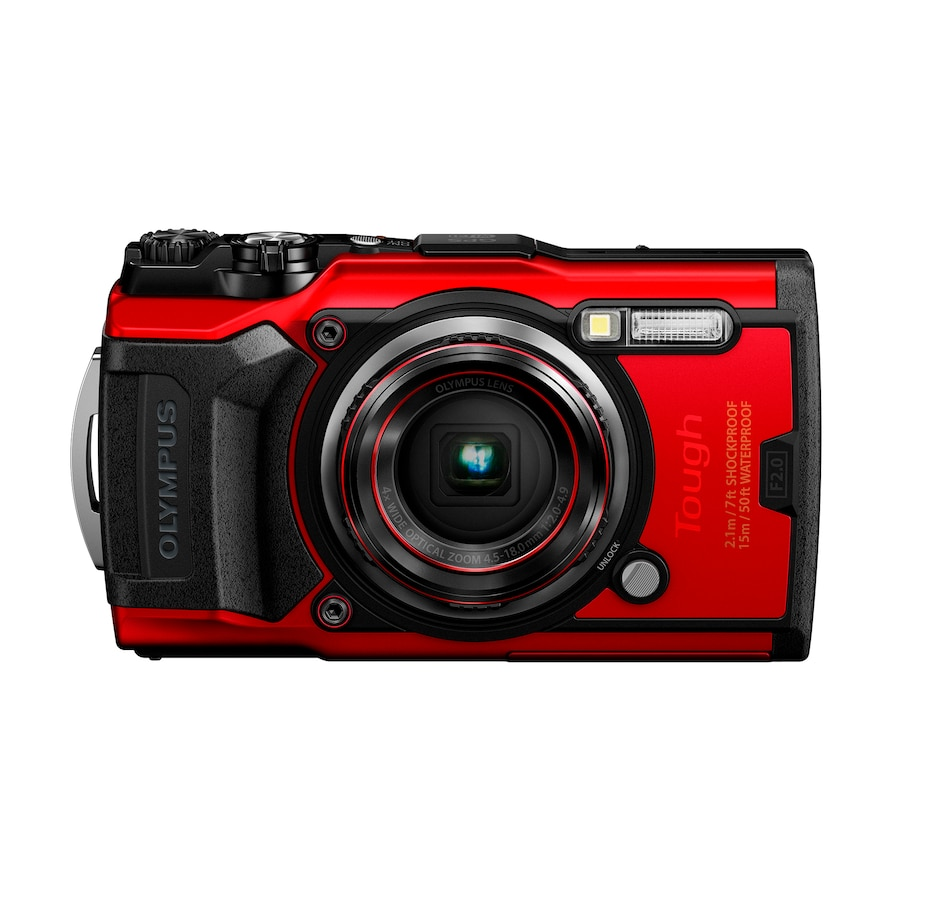 Image 659141_RED.jpg , Product 659-141 / Price $579.99 , Olympus Tough TG-6 from Olympus on TSC.ca's Electronics department
