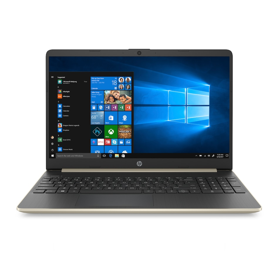 """Image 659193_GLD.jpg , Product 659-193 / Price $799.99 , HP 15.6"""" Thin and Light AMD Athlon Touchscreen Notebook 256GB SSD with 2-Year Tech Support from HP - Hewlett Packard on TSC.ca's Electronics department"""