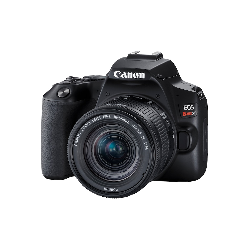 Image 659218.jpg , Product 659-218 / Price $749.99 , Canon EOS Rebel SL3 DSLR Camera with 18-55mm Lens (Black) from Canon on TSC.ca's Electronics department