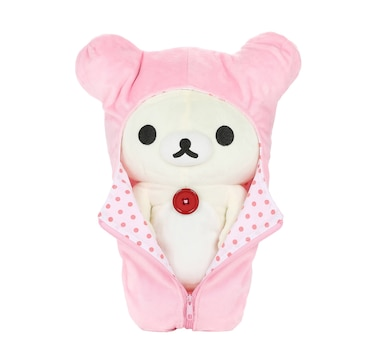 Rilakkuma Plush Stuffed Animal Korilakkuma Little Bear in Sleeping Bag 13""