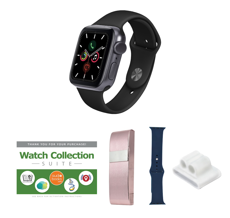 Image 659421_SGBBE.jpg , Product 659-421 / Price $499.97 - $539.98 , Apple Watch Series 3 GPS Sport Band Tech Bundle with 3-Year Tech Support from Apple on TSC.ca's Health & Fitness department