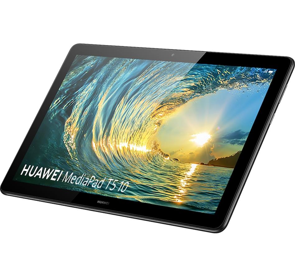 "Image 659443.jpg , Product 659-443 / Price $259.99 - $299.99 , HUAWEI MediaPad T5 10, 3GB RAM, 32GB SSD, 10.1"" 1080p FHD Display, Metal Body, Dual Speakers from Huawei on TSC.ca's Electronics department"