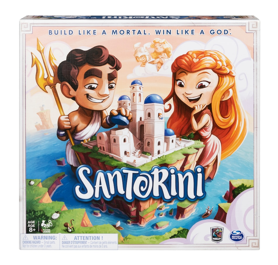 Image 659625.jpg , Product 659-625 / Price $59.99 , Santorini Game  on TSC.ca's Coins & Hobbies department