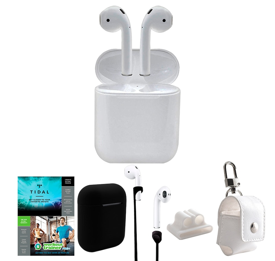 Image 659649_BLK.jpg , Product 659-649 / Price $329.99 , Apple AirPods with Charging Case, Accessories and 3 Months of Tidal Streaming from Apple on TSC.ca's Electronics department
