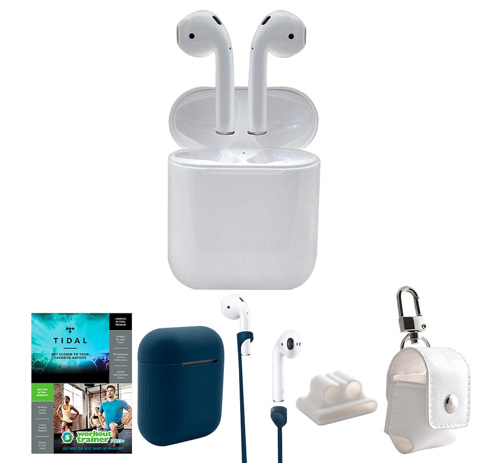 Image 659649_BLU.jpg , Product 659-649 / Price $329.99 , Apple AirPods with Charging Case, Accessories and 3 Months of Tidal Streaming from Apple on TSC.ca's Electronics department