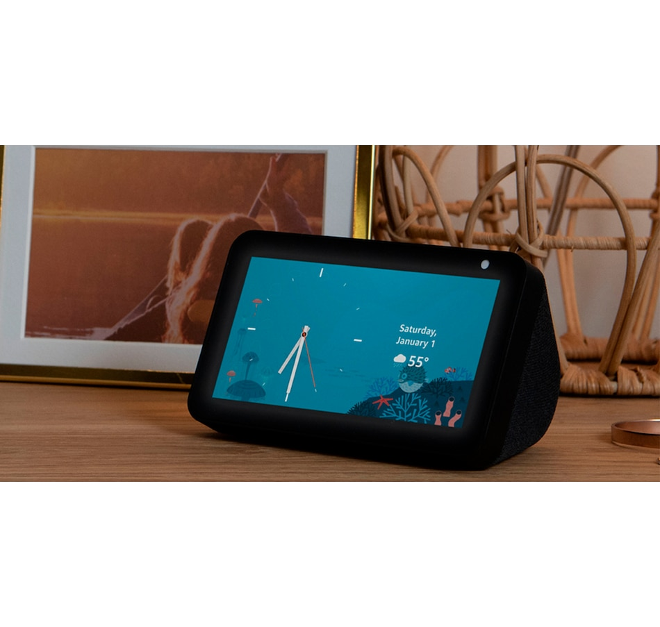 Image 659658_CHR.jpg , Product 659-658 / Price $99.99 , Amazon Echo Show 5 Compact Smart Display with Alexa from Amazon on TSC.ca's Electronics department
