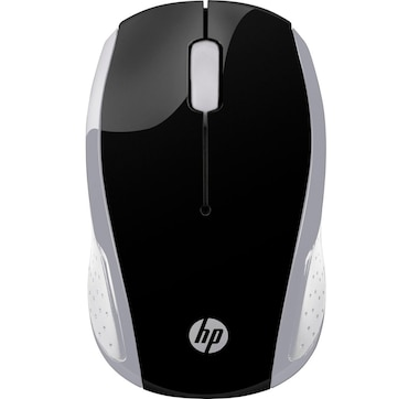 HP 200 Wireless Optical Mouse (Silver)