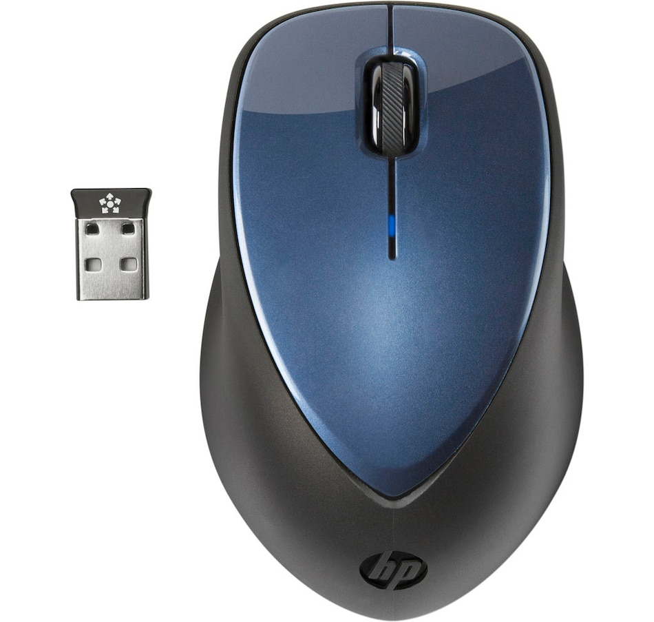 Image 659715.jpg , Product 659-715 / Price $49.99 , HP X4000 Wireless Mouse with Laser Sensor (Winter Blue) from HP - Hewlett Packard on TSC.ca's Electronics department