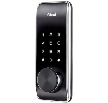 Alfred Inc DB2-B Smart BT Deadbolt Pin and Key