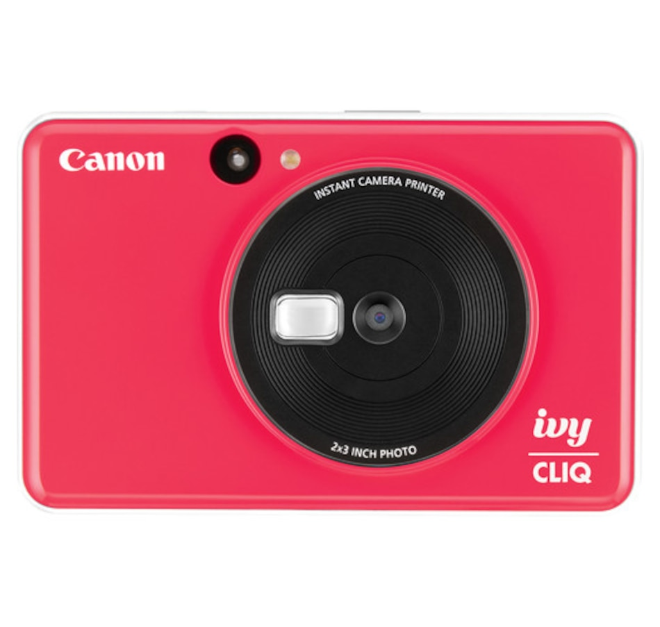 Image 659853_RED.jpg , Product 659-853 / Price $129.99 , Canon IVY CLIQ Instant Camera Printer from Canon on TSC.ca's Electronics department