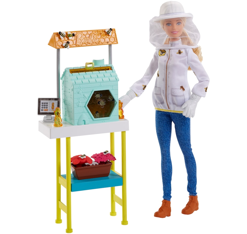 Image 659899.jpg , Product 659-899 / Price $34.99 , Barbie Beekeeper Playset from Barbie on TSC.ca's Home & Garden department