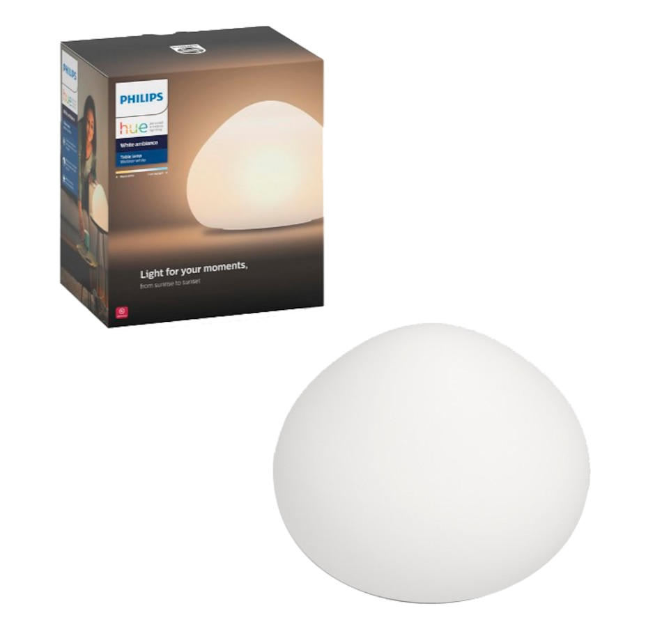 Image 660133.jpg , Product 660-133 / Price $114.99 , Philips Hue Wellner Table Lamp - White from Philips on TSC.ca's Electronics department