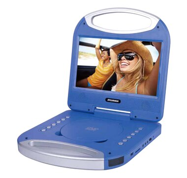"Sylvania 10"" Portable DVD player with Handle (SDVD1052)"