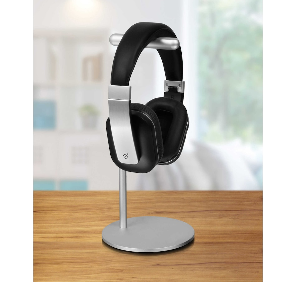 Image 660435.jpg , Product 660-435 / Price $51.99 , Aluratek Universal Headphones Desk Stand  on TSC.ca's Electronics department