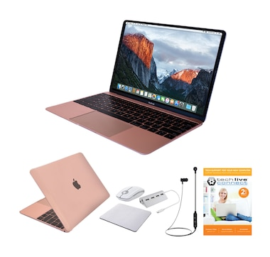 "Apple Notebook 12"" Retina 256GB Bundle (Rose Gold)"