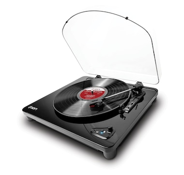 ION Air LP Turntable with Bluetooth, Dust Cover and USB Port