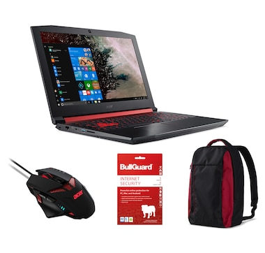 "Acer Nitro 5 15.6"" Gaming Laptop Bundle"
