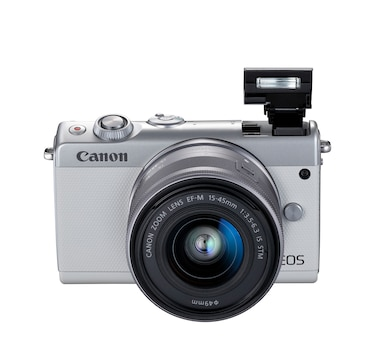 Canon EOS M100 Mirrorless Digital Camera with 15-45 mm Lens