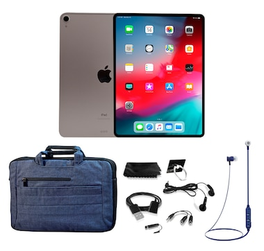 "Apple iPad Pro 11"" 64GB Tech Bundle"