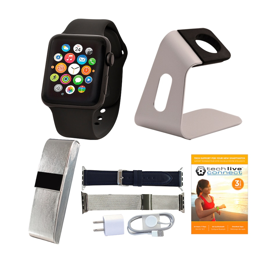 Image 661694_GYS38.jpg , Product 661-694 / Price $719.99 - $759.99 , Apple Watch Series 3 Sport Band Tech Bundle from Apple on TSC.ca's Electronics department