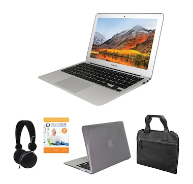 "Apple MacBook Air 11"" Tech Bundle with 2-Year Tech Support (MJVM2LL/A)"