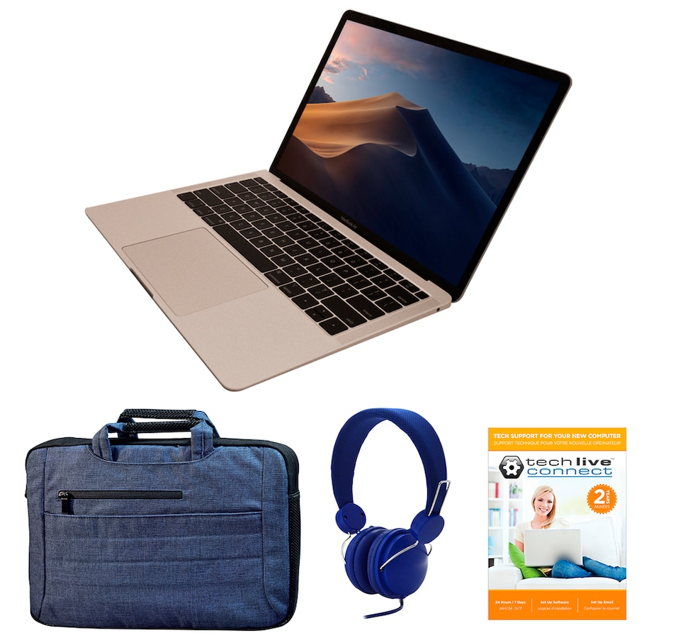 """Image 661754_SILB.jpg , Product 661-754 / Price $1,899.99 , Apple MacBook Air 13"""" 2018 128GB Tech Bundle from Apple on TSC.ca's Electronics department"""