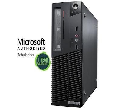 Lenovo M81 SFF i3-2100 8GB 2TB DVD Wi-Fi Windows 10 Home Refurbished