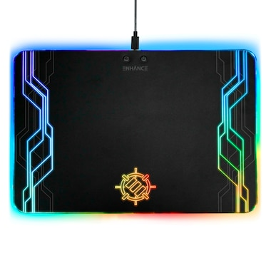 Enhance Gaming LED Peripheral Mouse Pad